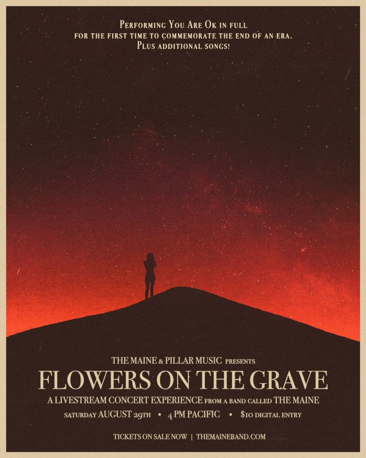 "Hot Show Alert: The Maine presents ""Flowers on The Grave"", a multi-dimensional Livestream event"