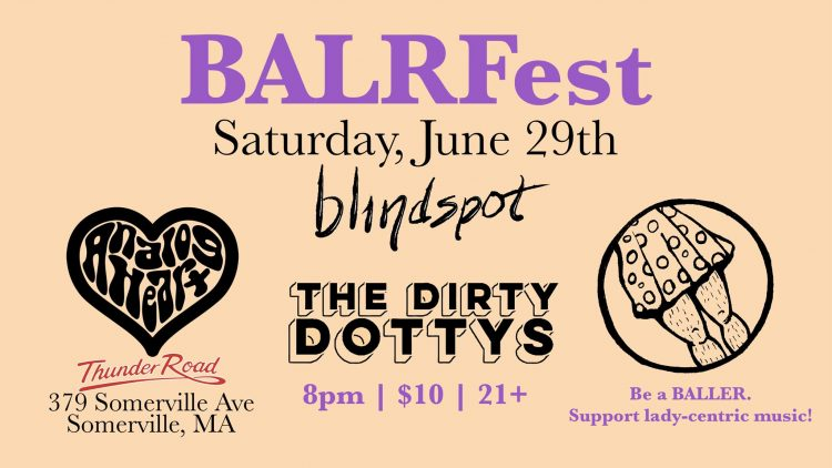 HOT GIG ALERT: BALRFest at Thunder Road in Somerville, MA (Saturday 6/29)