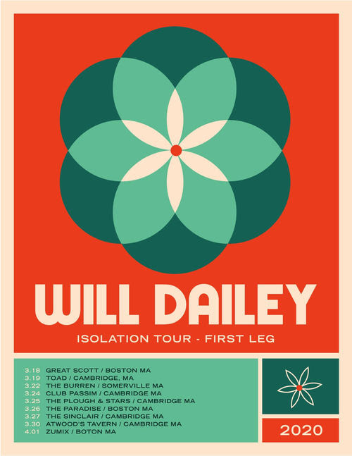 "Hot Show Alert: Will Dailey takes his ""Isolation"" tour to all our favorite venues from …his studio"