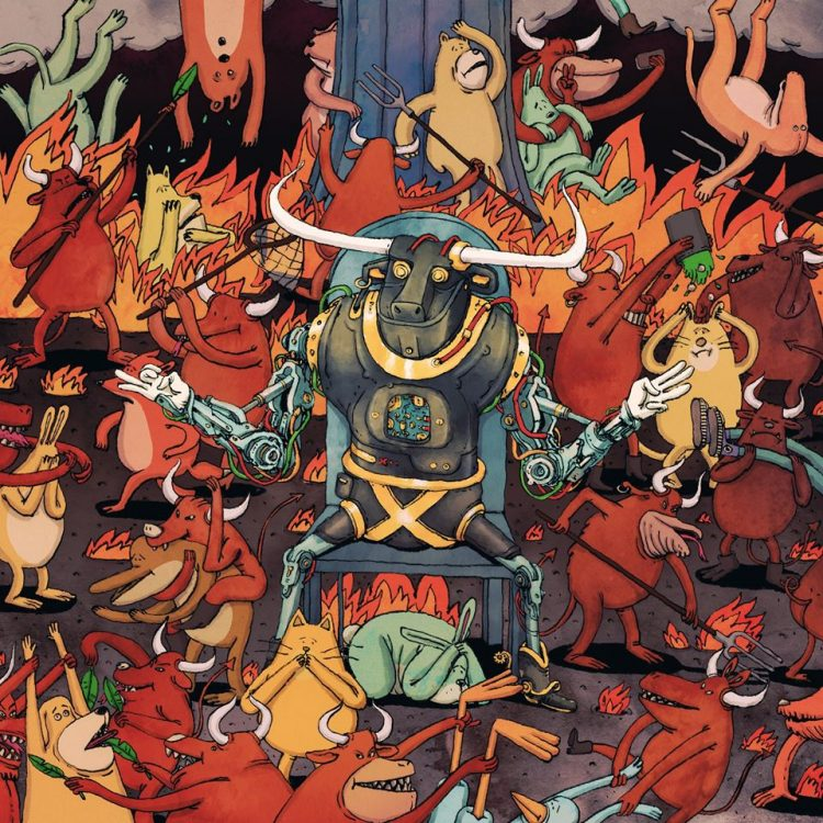 "New Music for that Quarantine Life: Dance Gavin Dance's ""Afterburner"""